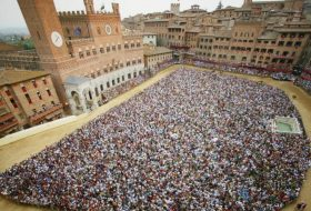 The four days of the Palio di Siena <span class=