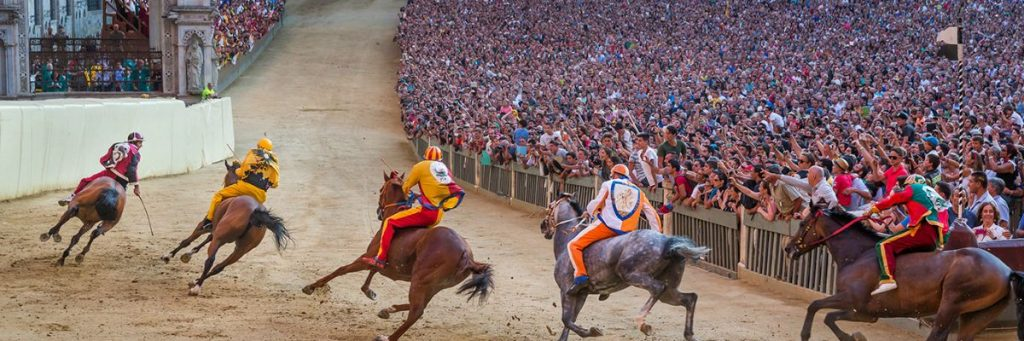 palio di siena - learning italy
