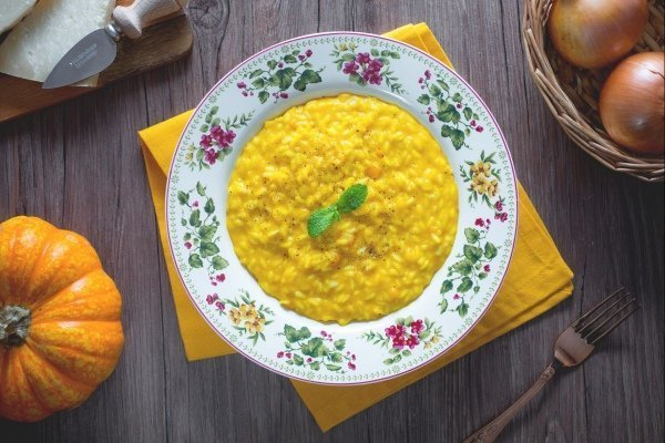 Cooking courses: italian food in autumn risotto
