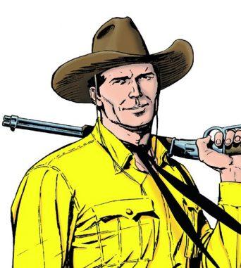 Comic exhibit: Tex Willer <span class=