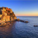 5 terre italy cliff