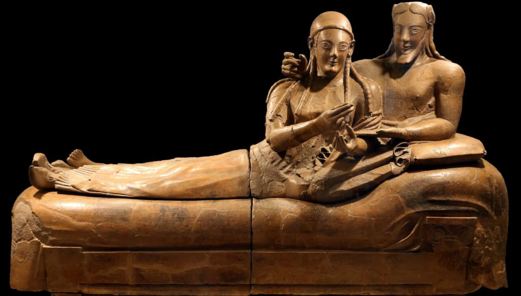 History of wine - Etruscans